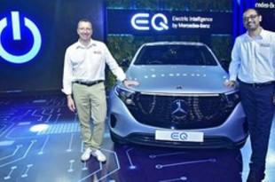 【インド】ベンツのインド初EV「EQC」、4月発売[車両](2020/01/16)