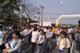 【ミャンマー】ティラワ接続道の拡幅が完工、往来円滑に[建設](2020/02/25)