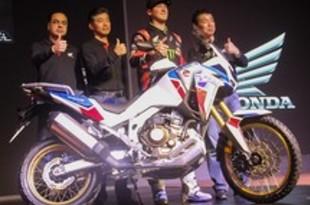 【インド】ホンダ、大型バイク・アフリカツインに新型[車両](2020/03/06)
