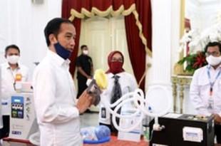 【インドネシア】大統領、国産の医療機器55製品を発表[医薬](2020/05/26)