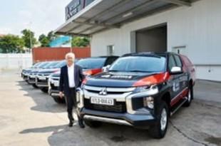 【ベトナム】三菱自、コロナ対策に保守点検サービスカー[車両](2020/05/12)