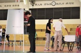 【シンガポール】選挙でコロナ対策、自宅待機者に専用投票所[政治](2020/06/09)