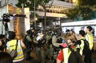 【香港】大規模デモから1年、各地で抗議活動[社会](2020/06/10)