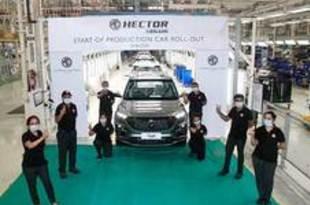 【インド】MGの多目的車ヘクタープラス、来月に発売[車両](2020/06/17)