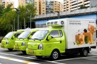 【韓国】現代自のEVトラック、生鮮食品宅配へ[車両](2021/07/20)