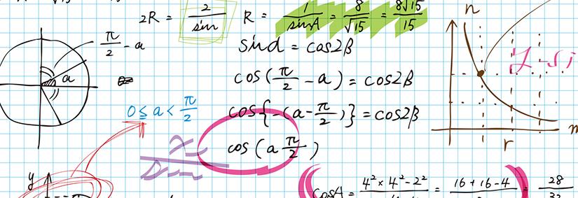 手書きの数式画像