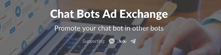 chatbots ad exchange