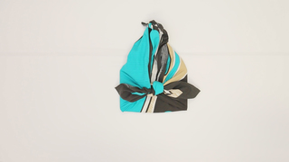 雖然是風呂敷但使用上也超方便!「小提袋」的包法