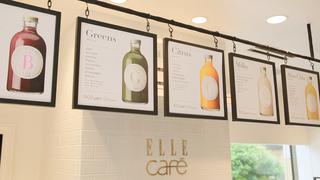 朝からキレイをチャージ!六本木「ELLE café」でジュースクレンズ!