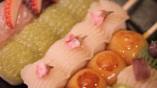 鎌倉散策のおともに「さくらの夢見屋 小町通り本店」で心躍る華やぎ団子を