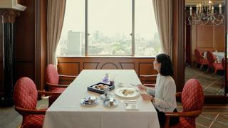 東京タワーを見ながらセレブ朝食。ウェスティン東京「ビクターズ 」のモーニング