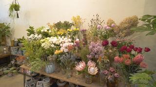 カフェ併設のフラワーショップ「tokyo garden」で癒しのひととき