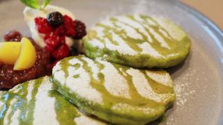 和スイーツ風のパンケーキもおすすめ。「ミカサデコ&カフェ神宮前」のおすすめ3選