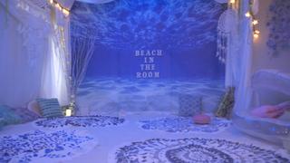 気分はマーメイド!ビーチヨガが話題の隠れ家ヨガスタジオ「Beach in the room」とは?