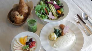 讓人躍躍欲試!早餐就吃「Hotel Allamanda Aoyama」的極品蛋白蛋包飯