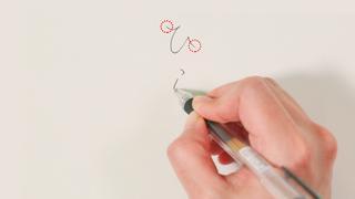 【美文字の基本の書き方】バランスの良いキレイな文字を書くコツ