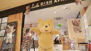 その可愛さにラブコール♡「ted」の世界をたっぷり堪能「Ted Café&Bar」