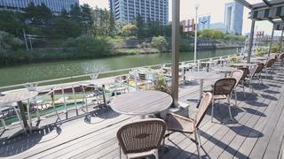 神楽坂の水上レストランでリゾート気分♡ 「カナルカフェ」で本格イタリアン