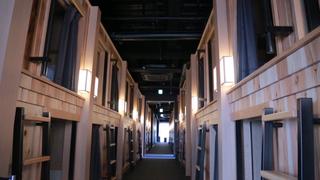 """ぼっち御用達ホテル!? まるで""""まゆ"""" の中!「THE PRIME POD京都」"""