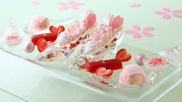 ~ホテルでお花味~桜フェア