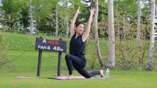 在大自然中作瑜珈!北海道「威斯汀留壽都度假酒店」的活動