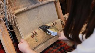 """世界にひとつの織物体験!「バハール」でイラン工芸""""ギャッベ""""を体験しよう"""
