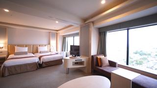 アクセス抜群の「新横浜プリンスホテル」でワンランク上のプレミアムルームを満喫