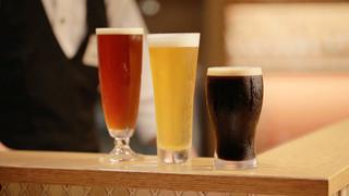 「なんばCITY」内、出来たてホヤホヤのビールが飲める「道頓堀クラフトビア醸造所」