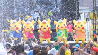 """今年は""""Pokémon GO""""とコラボ!「ピカチュウだけじゃない ピカチュウ大量発生チュウ!」"""