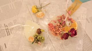 吉祥寺「nekonote*candle」で世界にひとつのアロマサシェ作り