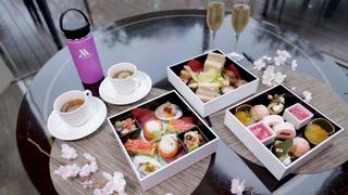 「マリオットホテル」で御殿山の桜を眺めながら楽しむ美食ランチ