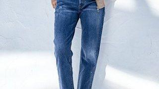 """逆に女らしい?春のデニムパンツは""""ちょいハンサム""""で履きたい気分"""