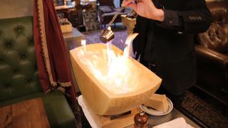 原宿のイタリアン「solomons」で日本初のテーブルアートを体験