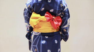 意外地簡單! 展現可愛形象的浴衣「萬壽菊」綁法