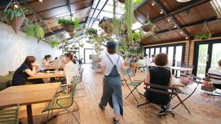 大阪「ザ ファーム ユニバーサル」内、緑に囲まれたおすすめカフェ「ファーマーズキッチン」