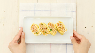 お出かけご飯の格上げレシピ! お弁当にぴったりな超簡単「一口オムライス」