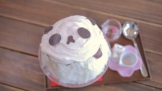 湯島にある「サカノウエカフェ」でほっこり可愛いパンダスイーツを楽しむ