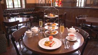 ミュージアムカフェ・バー「Café 1894」で明治のレトロクラシカルな気分に♡