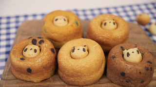 上野にあるドーナツ専門店「シレトコファクトリー」のキュートなパンダドーナツ5選