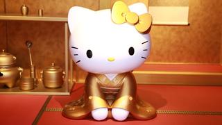 カワイイが止まらない! 「はろうきてぃ茶寮 二寧坂店」でキティちゃんにときめく!