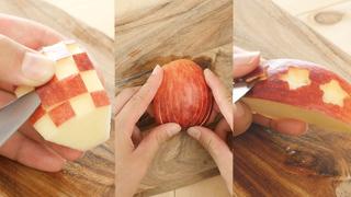 うさぎだけじゃない! 見栄えが良い「りんごの飾り切り」アイデアまとめ