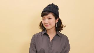 ロープ編みでこなれ感を。秋冬の簡単ヘアアレンジ「ボブ×ニット帽」