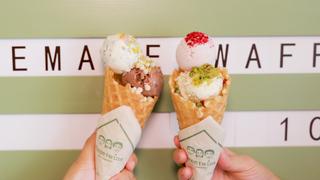 代官山駅すぐ!こだわり素材のオーガニックアイス「Three Twins Ice Cream」