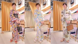 「KIMONO by NADESHIKO」で揃える夏浴衣コーデ3選