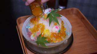 夏限定!京都「ぎおん楽楽」のあめちゃんみたいなかき氷