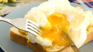 卵とチーズの最強コンビ。ボリューム満点「ふわふわクラウドパン」の作り方