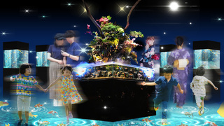 新感覚金魚展示「WOW!金魚あそび」が京都水族館で開催中!