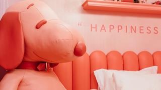 """テーマは""""LOVE""""!「PEANUTS HOTEL」6Fの宿泊部屋を紹介"""