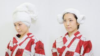 湯上り美人が即完成♡ 崩れないのにかわいい頭タオルの巻き方