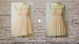 ドレスのアイロンかけは怖くない!パリコレ職人のアイロン術を教えます!